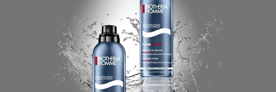 biotherm homme shaver foam