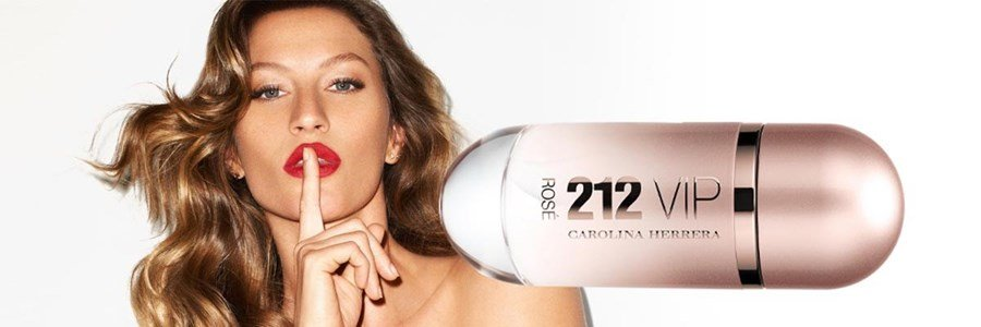 carolina herrera 212 vip rose eau parfum mulher