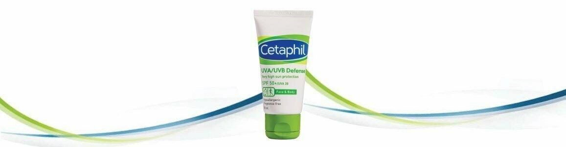 cetaphil defense spf50 elevada protecao solar