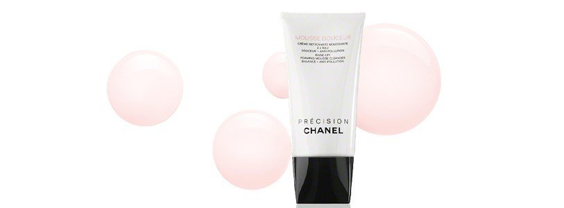 chanel mousse douceur creme nettoyante moussante l eau douceur anti pollution