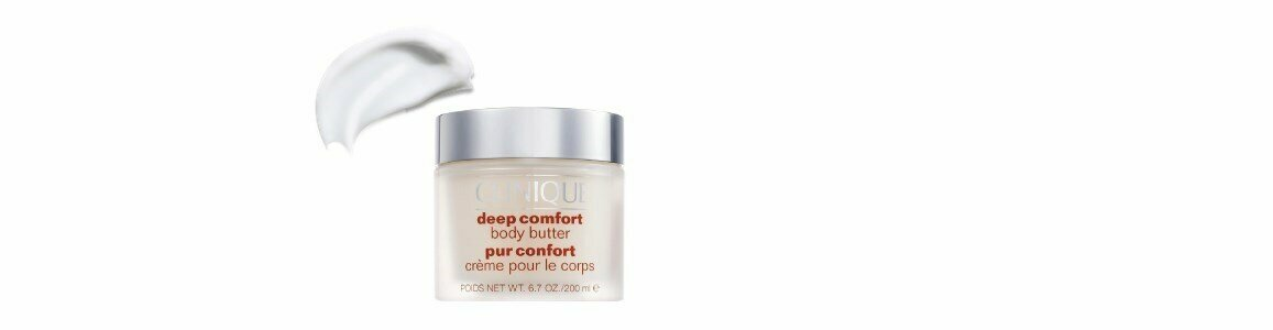 clinique deep comfort body moisture butter