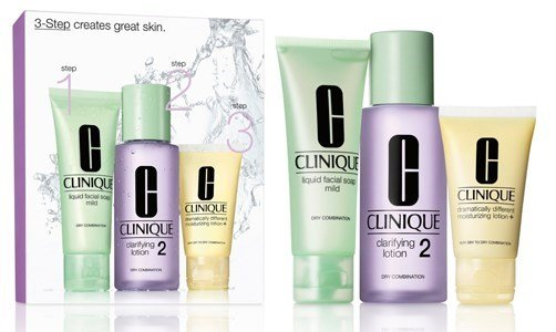 clinique kit 3 passos