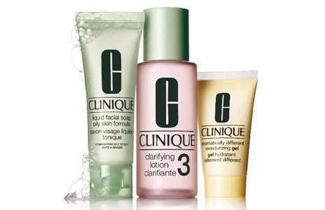 clinique kit 3 passos tipo iii