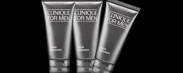 clinique men face bronzer