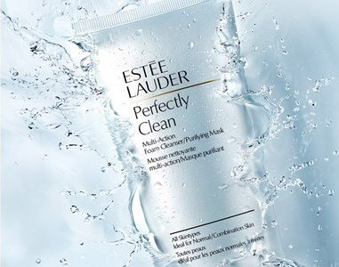 estee lauder perfectly clean how to use