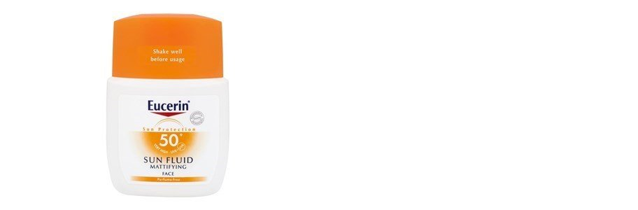 eucerin fluido solar rosto matificante spf50