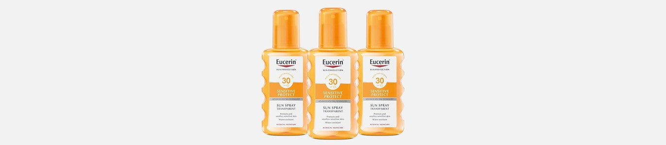 eucerin solar spray transparente spf30