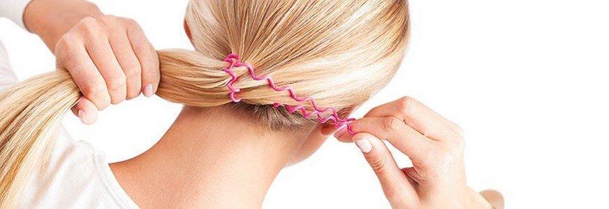 invisibobble elastico rosa 3 unidades