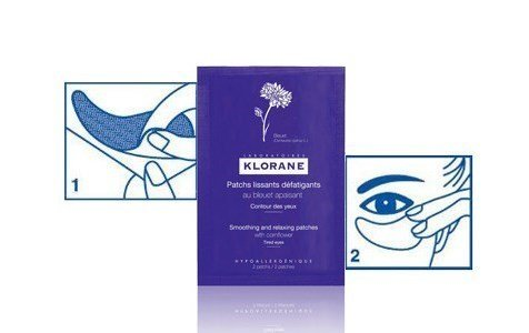 klorane flor ciano patchs alisantes