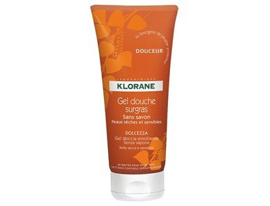 klorane nourishing shower gel soft