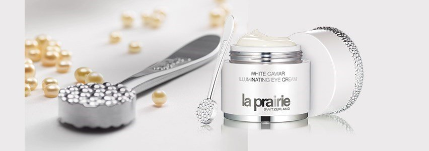 la prairie creme olhos iluminador caviar branco