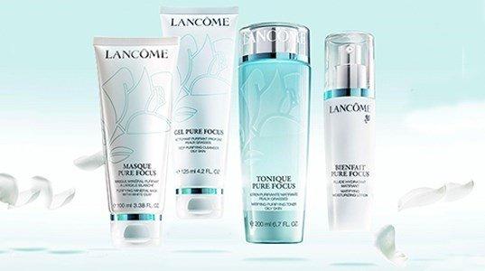lancome pure focus gama