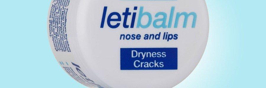letibalm lips nose reparing balm