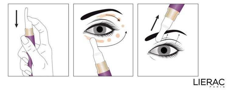 lierac liftissime yeux serum contorno olhos