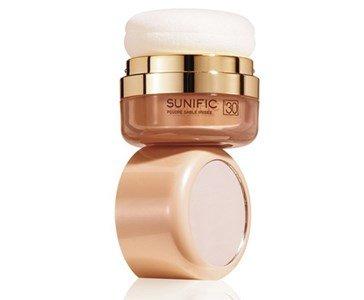 lierac sunific 1 po iridescente bronzeado rosto antienvelhecimento cor areia