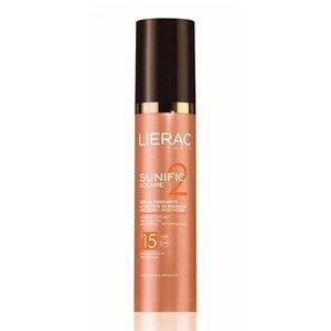 lierac sunific 2 creme fundente spf 15 protetor solar antienvelhecimento