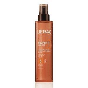 lierac sunific 3 oleo sublimador ativador do bronzeado spf6 antienvelhecimento