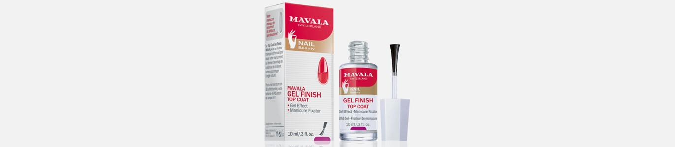 mavala gel finish top coat efeito unhas gel
