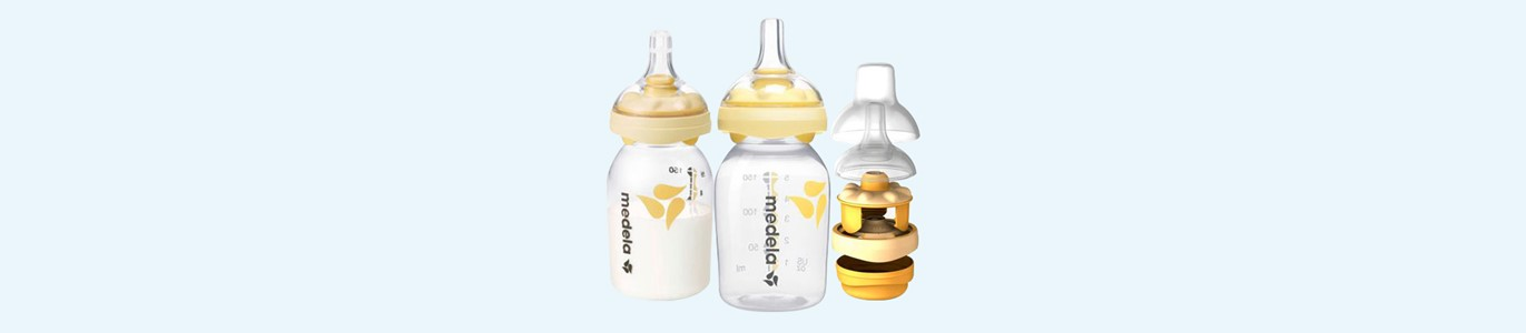 medela biberao leite materno 150