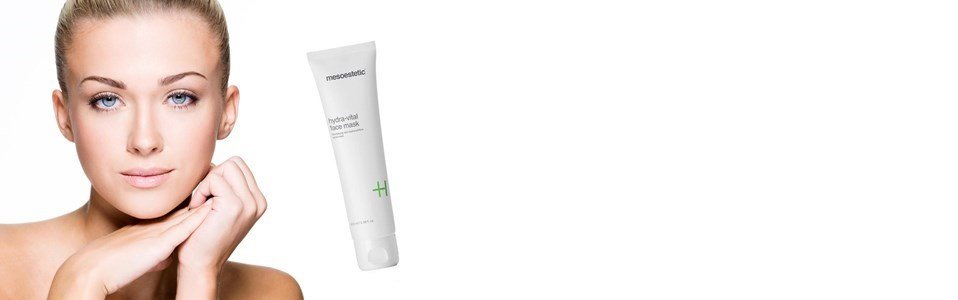 mesoestetic hydra vital face mask