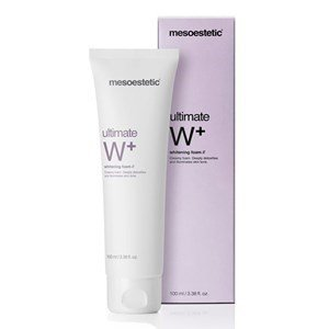 mesoestetic ultimate w  whitening foam