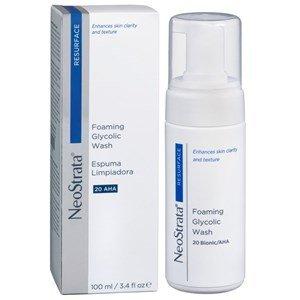 neostrata resurface espuma limpeza acido glicolico