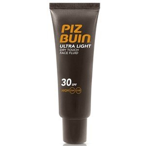 piz buin ultra light rosto