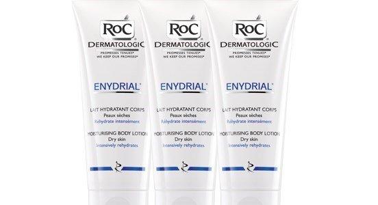 roc enydrial leite hidratante corporal