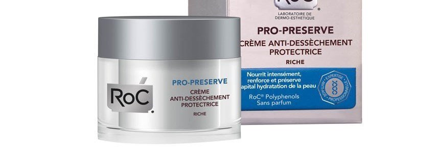 roc pro preserve creme rico antioxidante pele seca