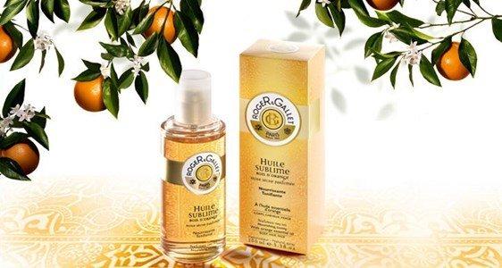 roger gallet bois orange oleo seco perfumado