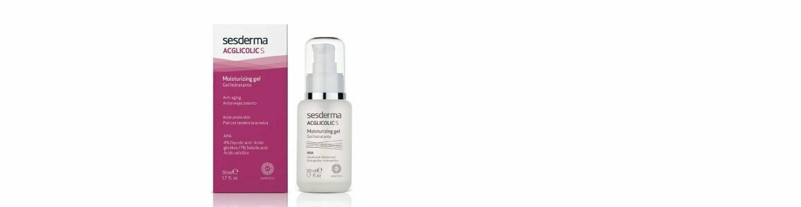 sesderma acglicolic s gel hidratante antienvelhecimento pele oleosa