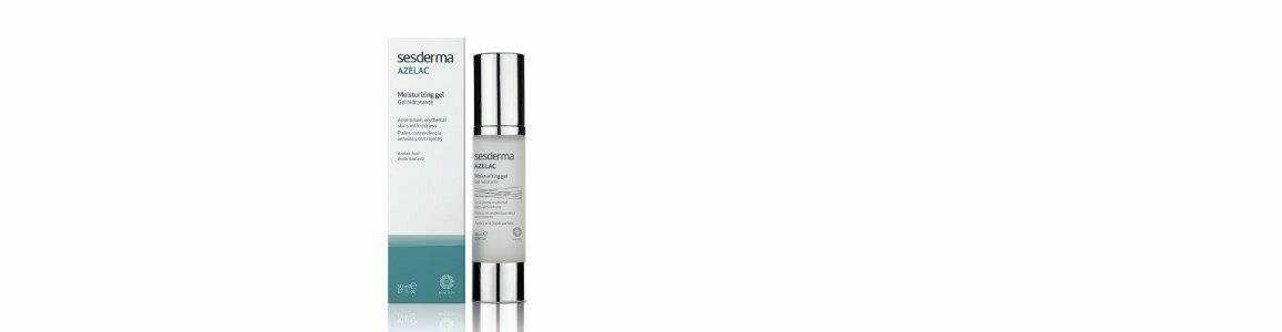 sesderma azelac gel facial hidratante pele acne vermelhidao