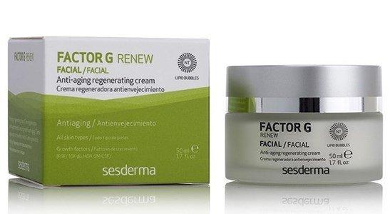sesderma factor g renew creme antienvelhecimento