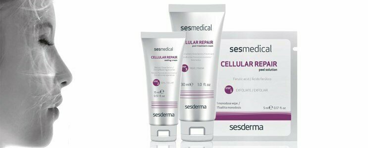 sesderma sesmedical cellular repair peeling peles fotoenvelhecidas