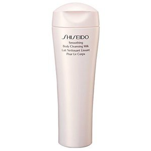 shiseido body care smoothing body cleansing leite