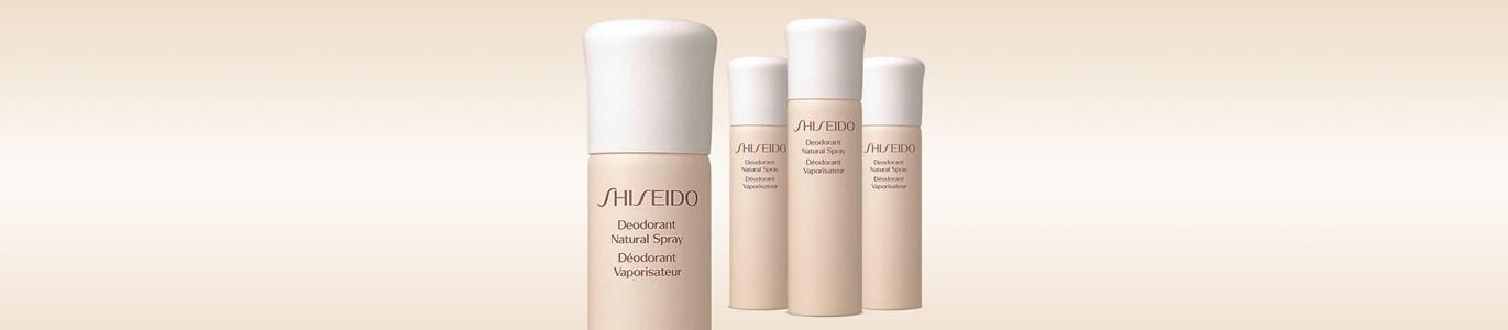 shiseido desodorizante natural spray