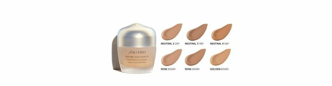 shiseido future solution lx total radiante foundation