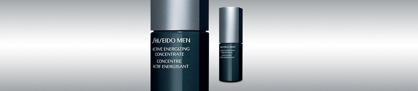 shiseido men active energizing concentrado