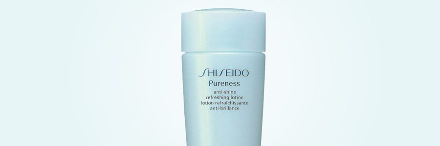 shiseido pureness anti shine refreshing lotion