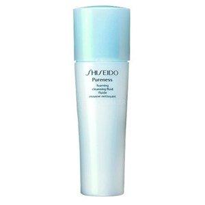 shiseido pureness cleasing fluid espuma