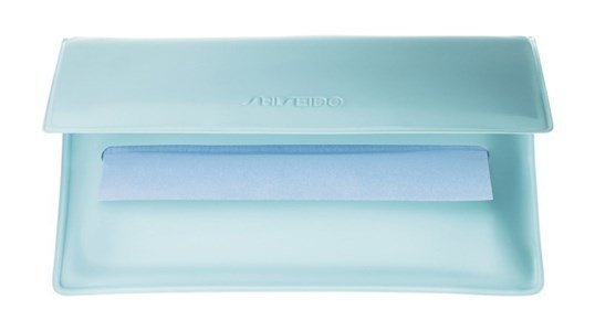 shiseido pureness oil control blotting papel