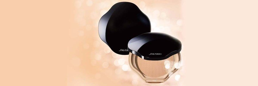shiseido sheer perfect base compacta em po