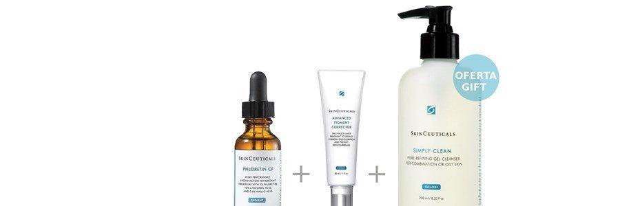 skinceuticals coffret pele hiperpigmentada