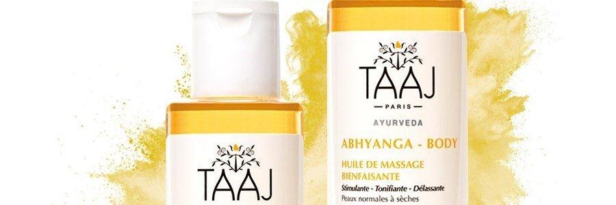 taaj abhyanga huile massage bienfaisante