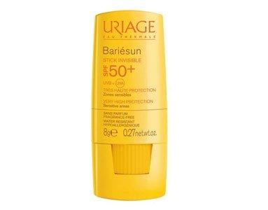 uriage bariesun stick spf50 invisivel rosto corpo zonas sensiveis