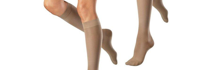 venosan meias elasticas classe 2 compressao ate joelho biqueira