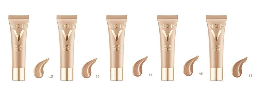 vichy teint ideal illuminating foundation cream spf20 dry. Black Bedroom Furniture Sets. Home Design Ideas