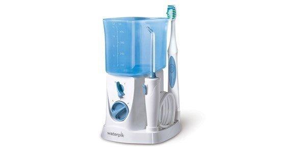 waterpik 2 em 1 irrigador oral escova dentaria nano sonica wp 700