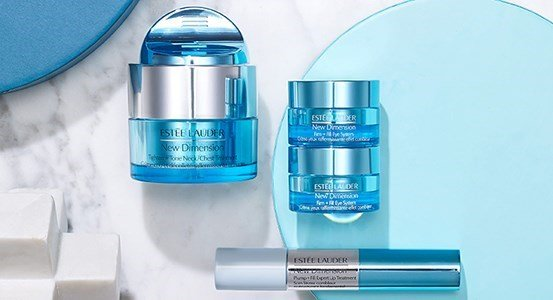 estee lauder new dimension firm fill eye system refirmante contorno olhos