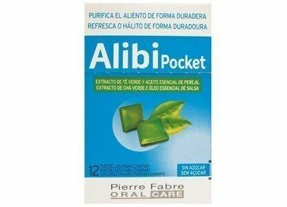 alibi pastilhas extrato cha verde